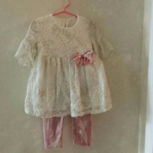 2 pc. Bonnie Baby pant & matching top 18 month